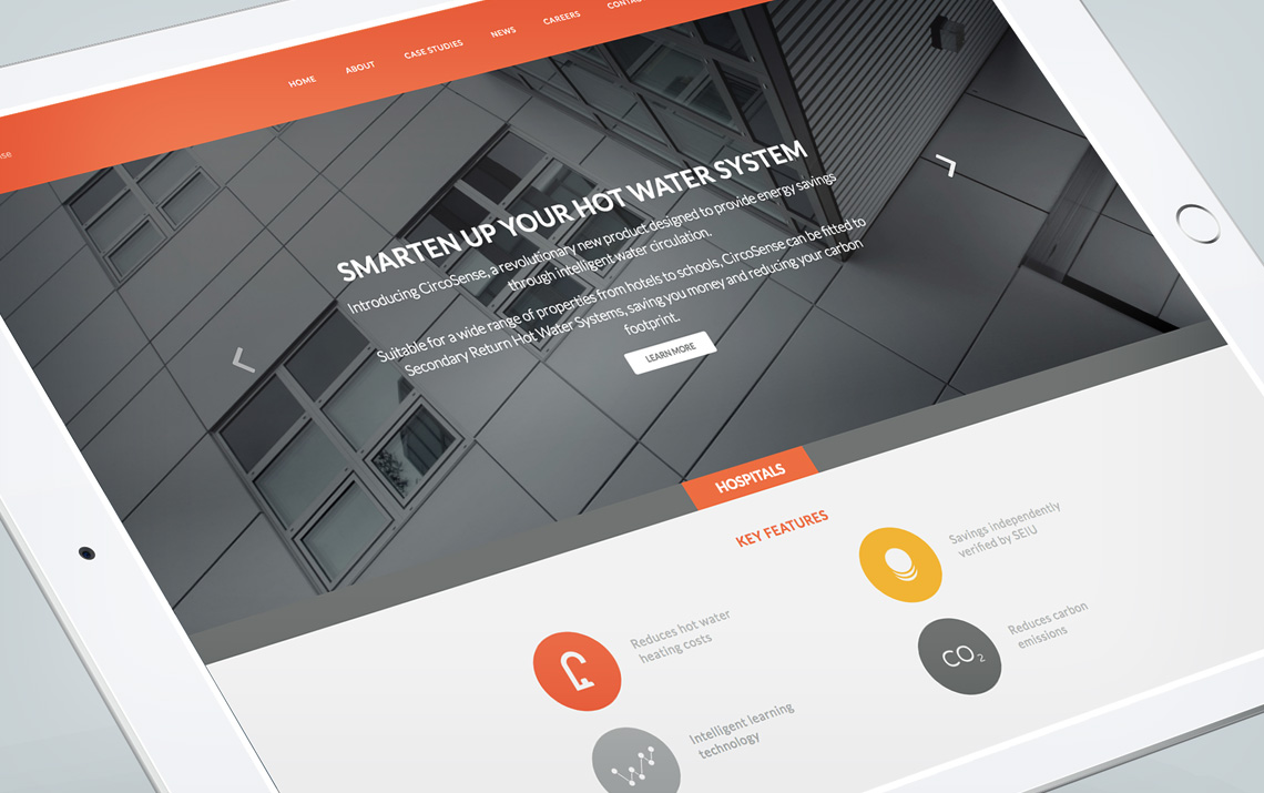 Website design, re-brand & animation by Maguires