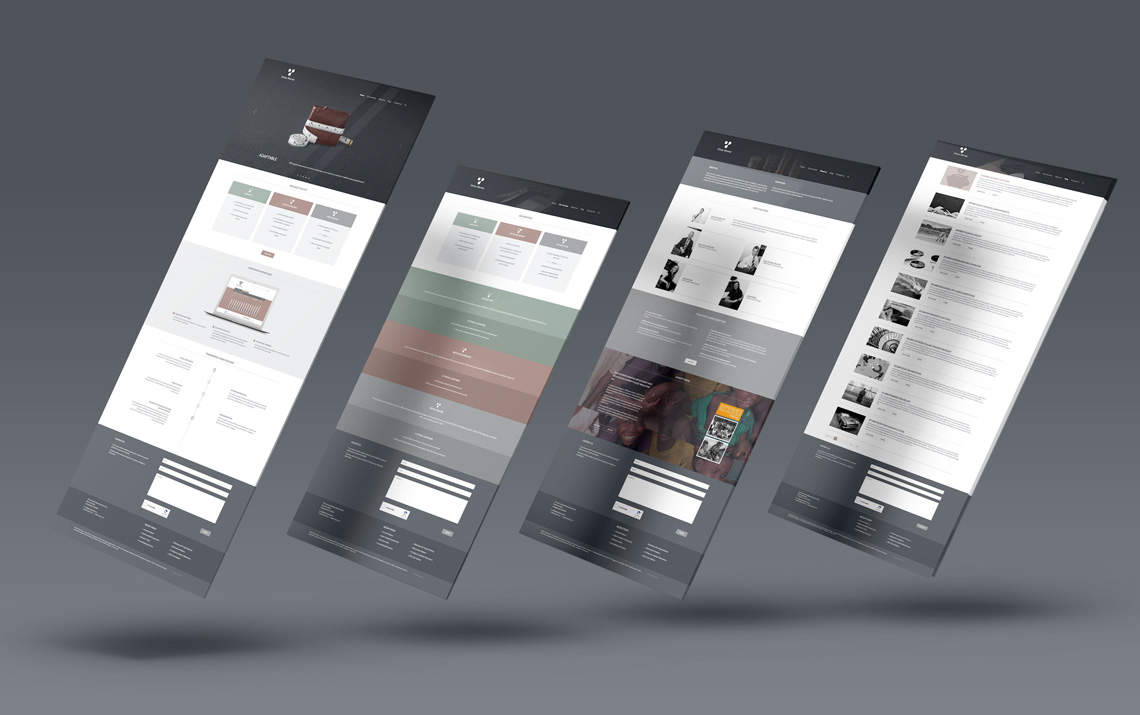 Website design, re-brand and marketing suite by Maguires