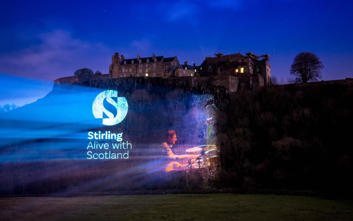 A bold new brand for the Stirling area by Maguires