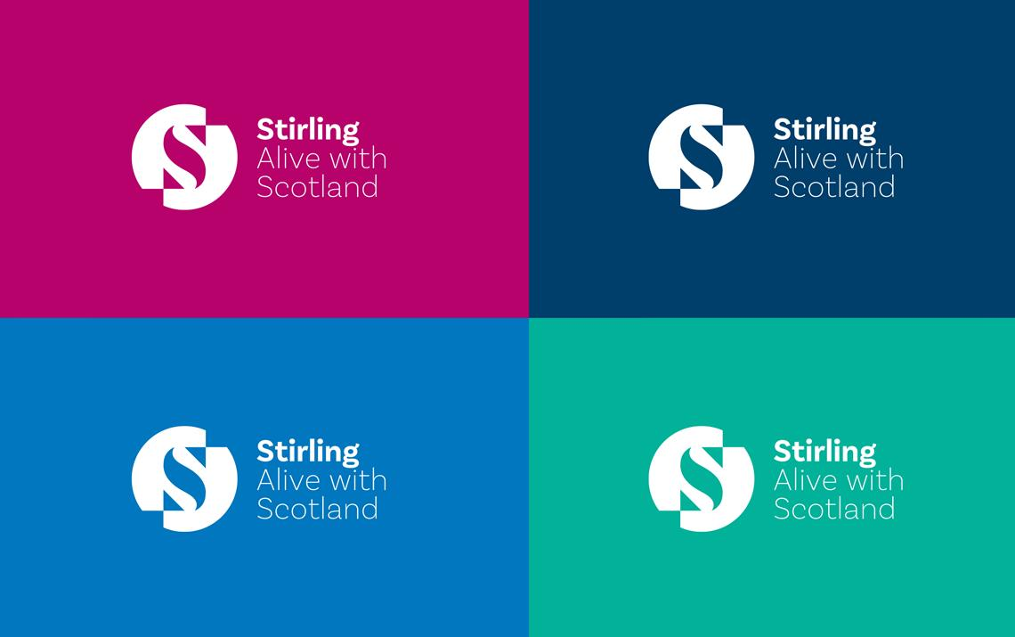 A bold new brand and marketing campaign for the Stirling area by Maguires