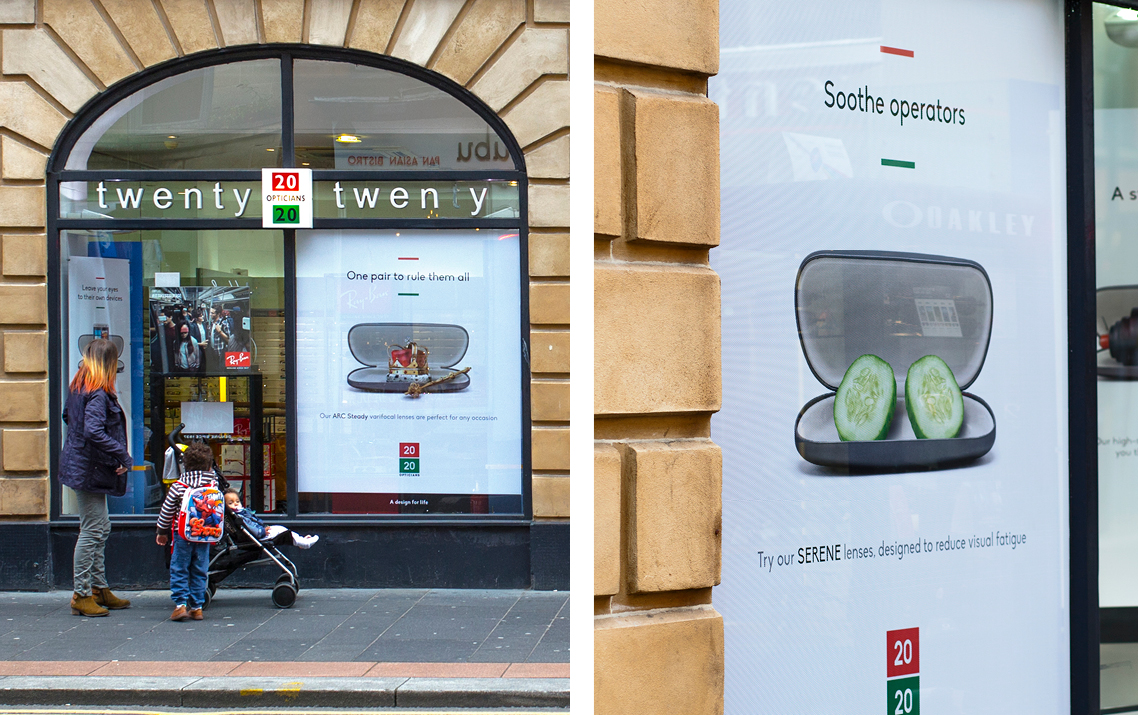 20 20 Opticians In-Store Marketing Campaign by Maguires