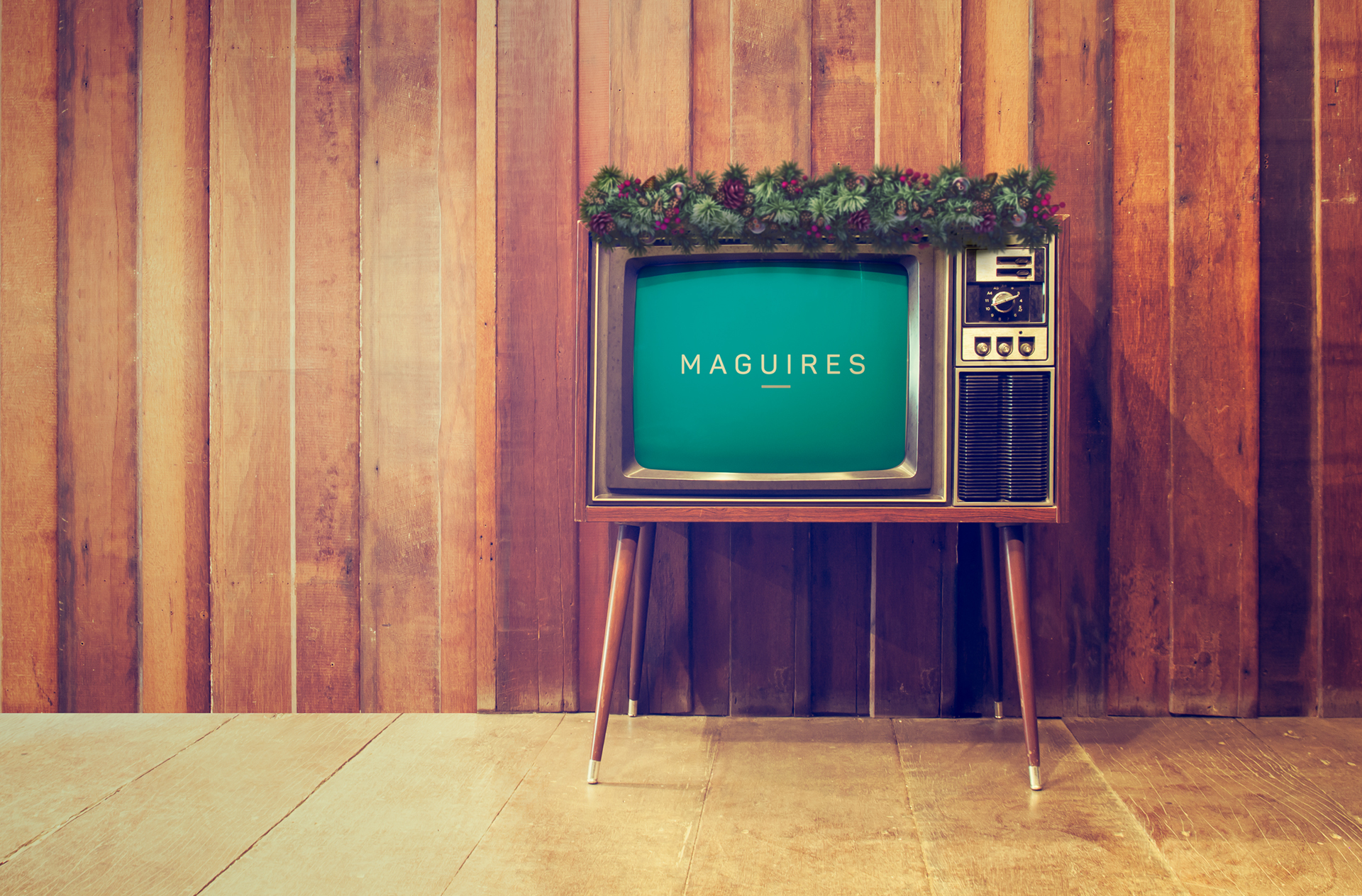 Maguires Christmas TV