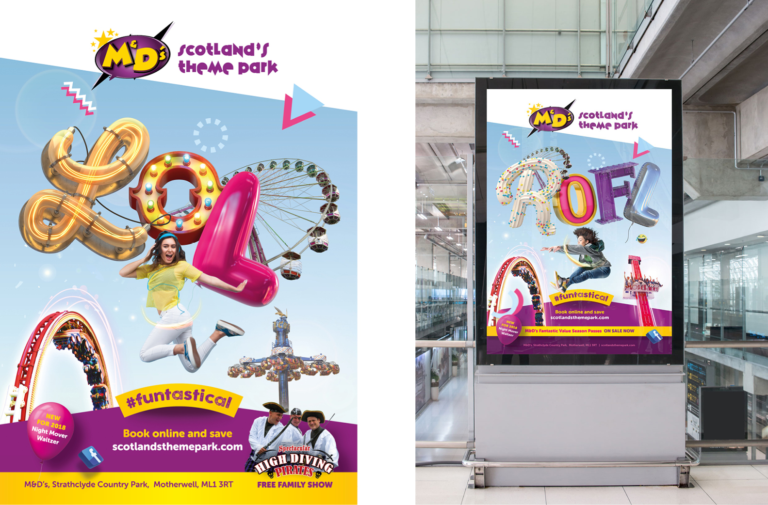 M&D's Theme Park OMG Advertising Campaign Maguires