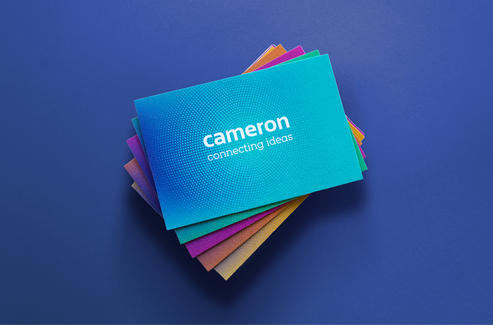 Cameron Events Maguires branding web design