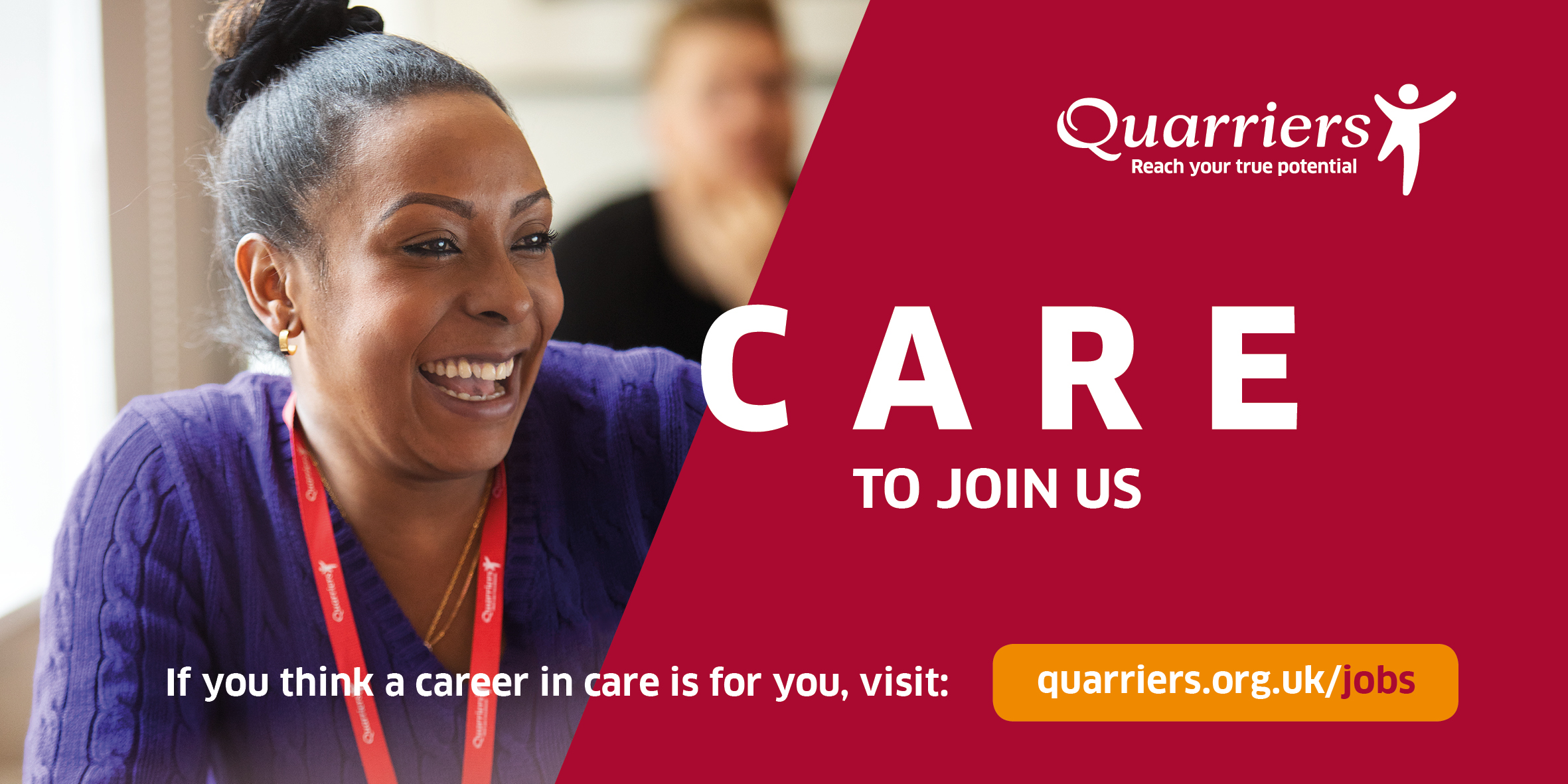 Quarriers Recruitment Advertising Campaign Maguires