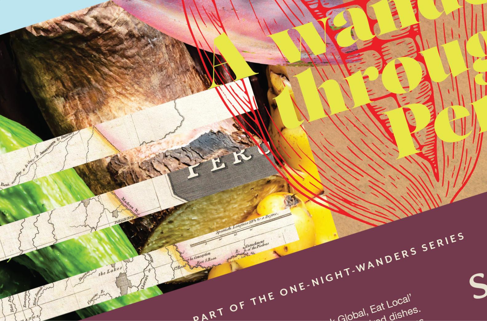 Stravaigin One Night Wander Advertising Maguires
