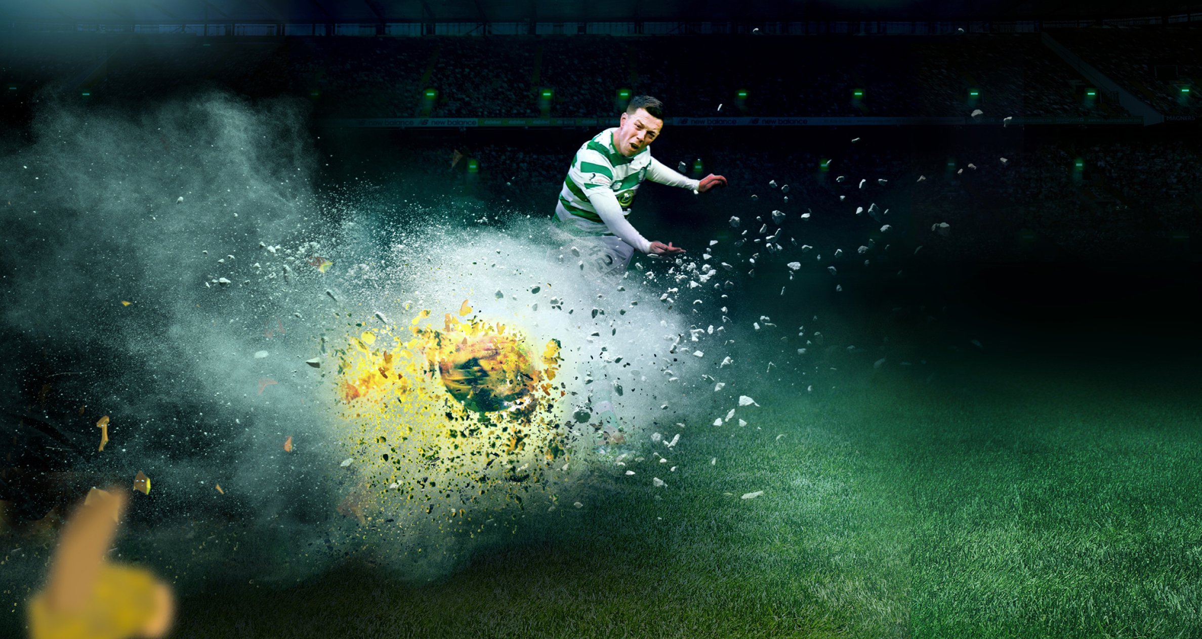 Celtic 'Power of Paradise' Campaign by Maguires